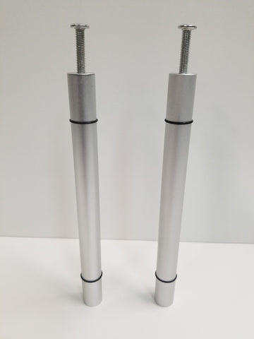 Set of aluminum wine pegs