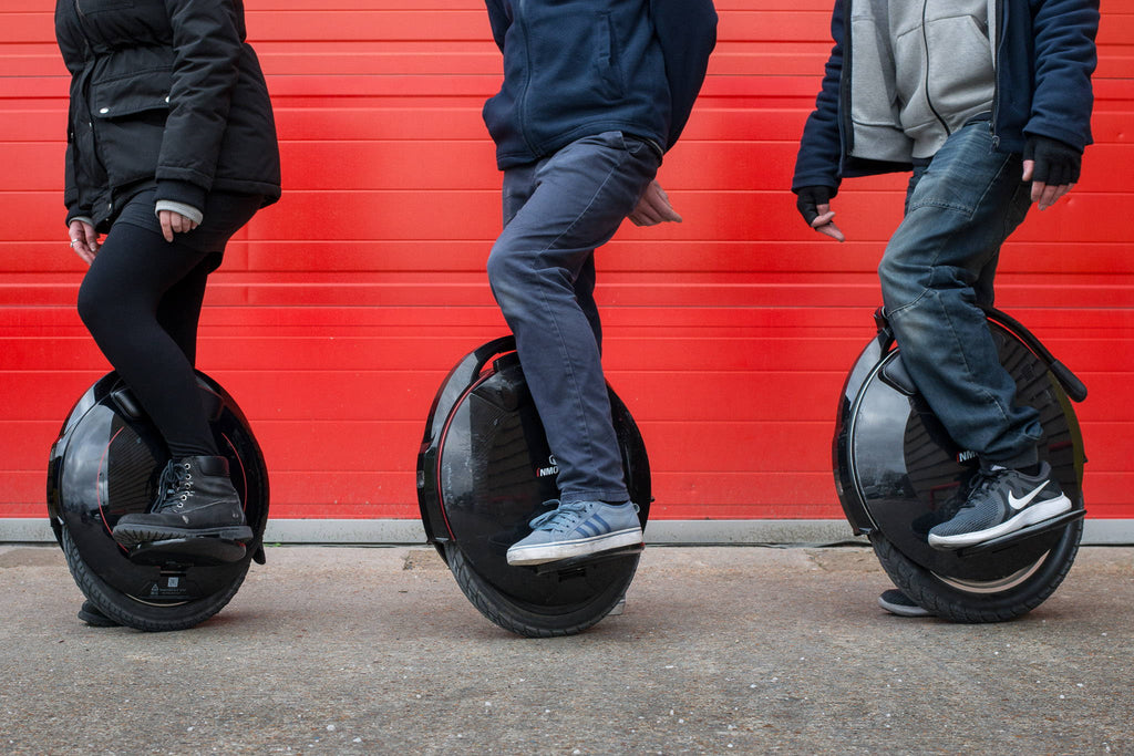 V5F vs V8 vs V10F : InMotion's electric unicycles compared