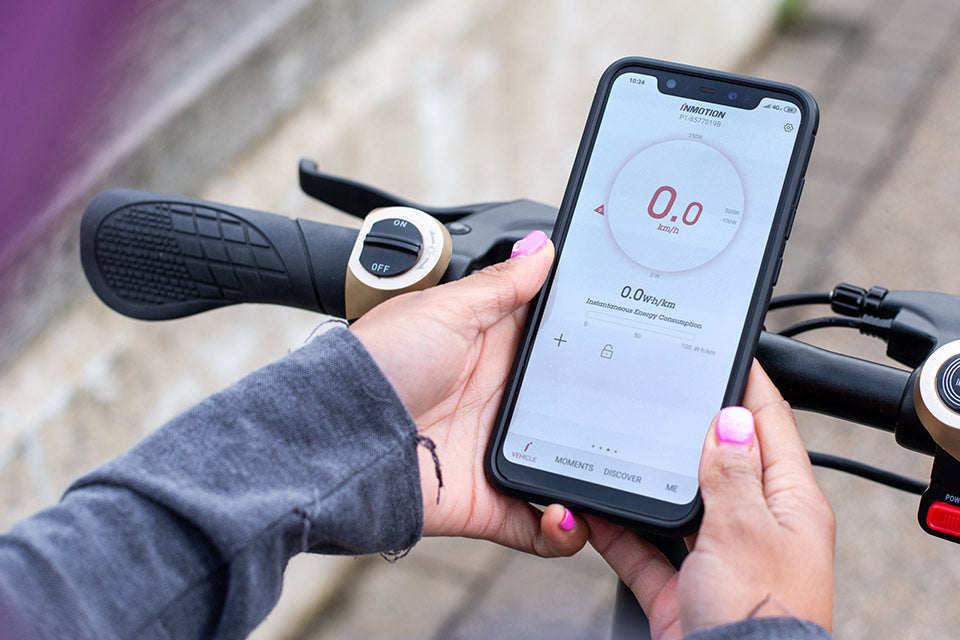 a quality smartphone application is important when using an electric scooter