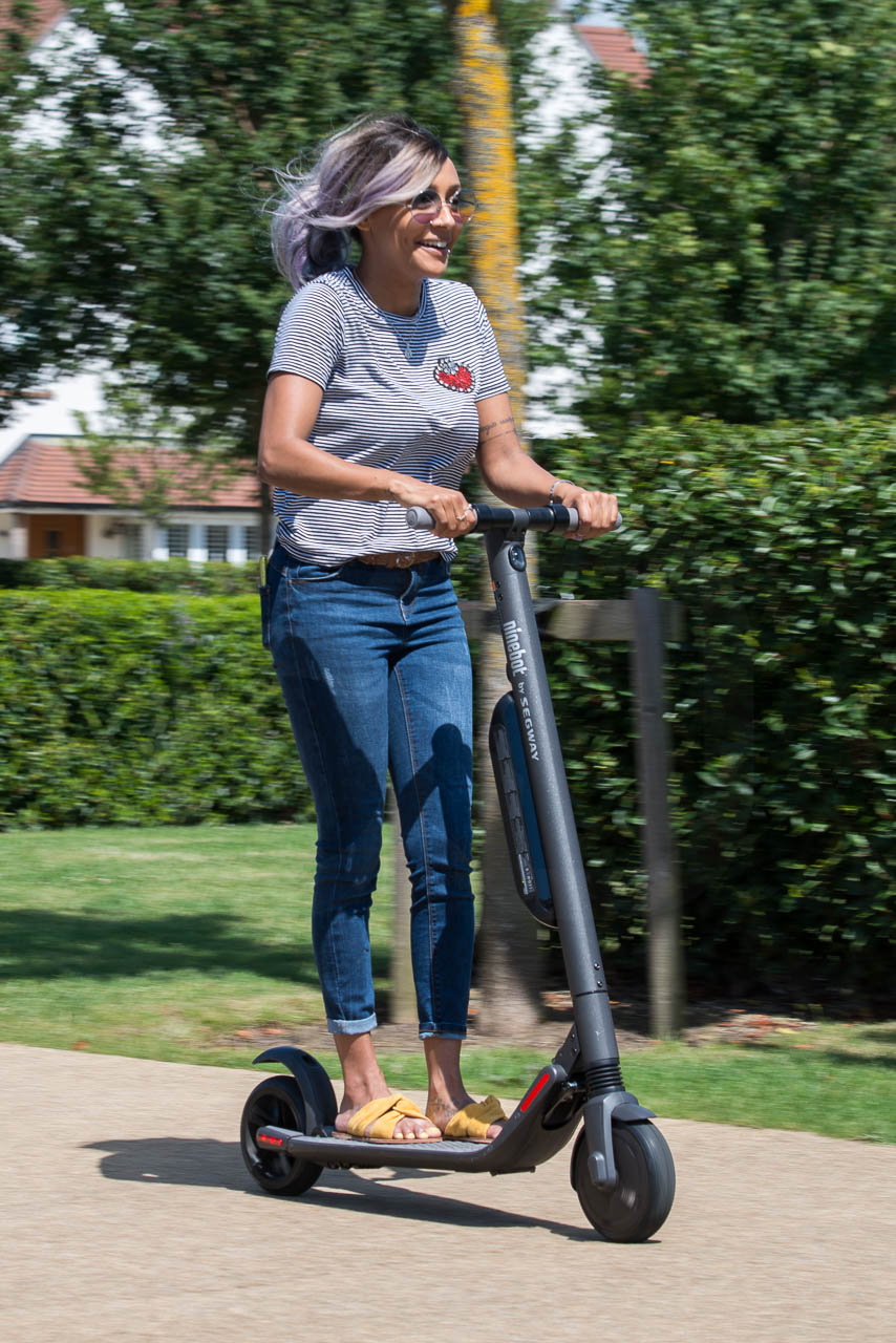 Segway Ninebot ES4 / Battery upgrade Review – Electric