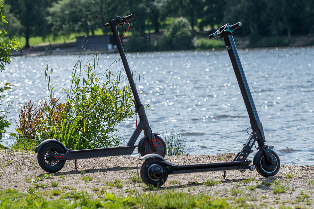 used folding electric scooters