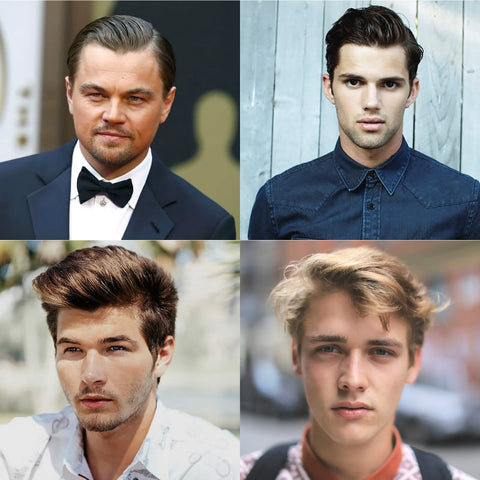 Men S Face Shapes Which Hairstyles Haircuts Suit You Best