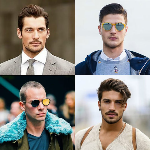 Men\'s Face Shapes: Which Hairstyles & Haircuts Suit You Best ...