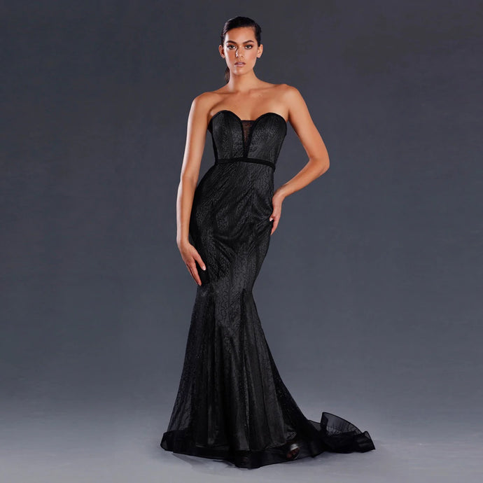 Erika Gown Black