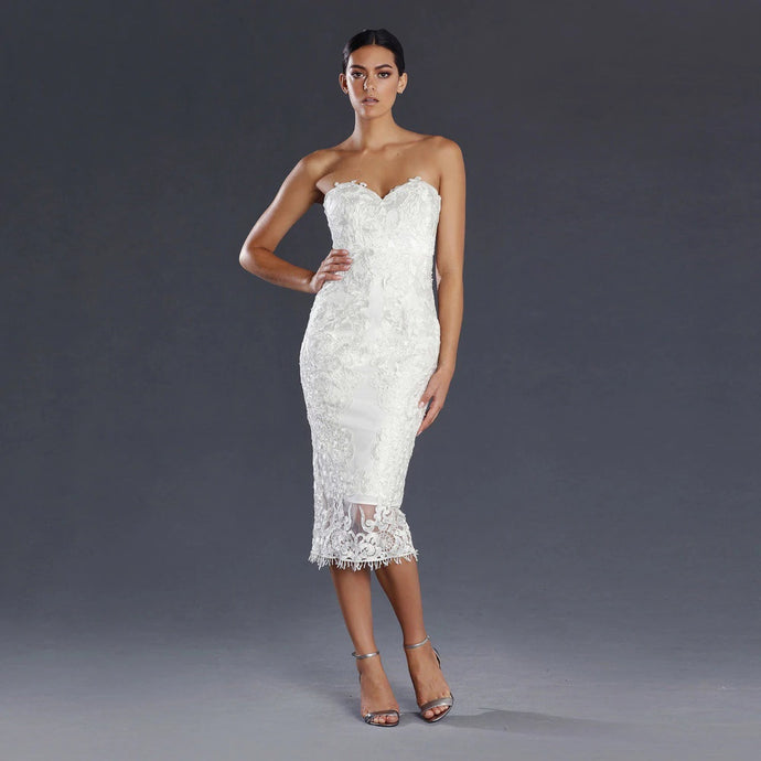 Camille Dress Ivory