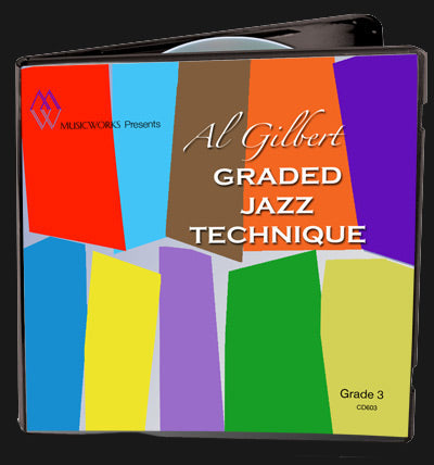 Al Gilbert Jazz Technique, Grade 3