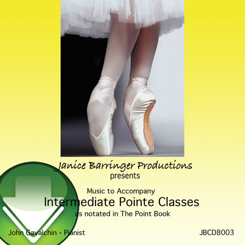 Music to Accompany Intermediate Pointe Classes Download