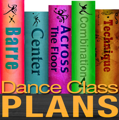Dance Class Plans, Low Intermediate Lyrical, Month 4
