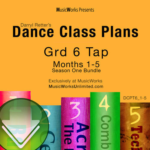 Dance Class Plans, Grade 6 Tap Bundle 1 Download