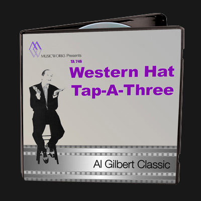 Western Hat Tap-A-Three