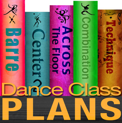 Dance Class Plans, Low Intermediate Lyrical, Month 2