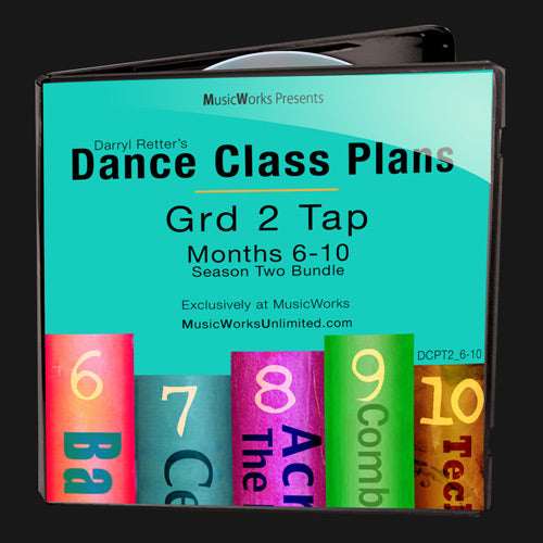 Dance Class Plans, Grade 2 Tap Bundle 2