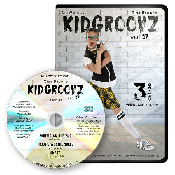 Kidgroovz, Vol. 17