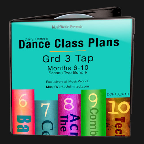Dance Class Plans, Grade 3 Tap Bundle 2