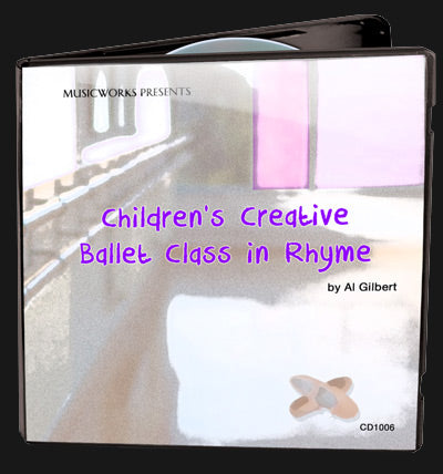Children's Creative Ballet Class In Rhyme