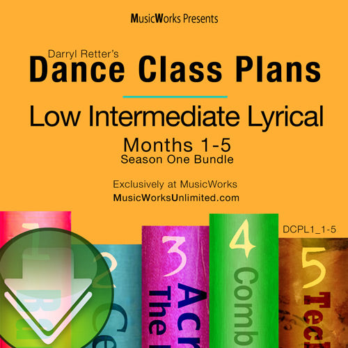 Dance Class Plans, Low Intermediate Lyrical Bundle 1 Download
