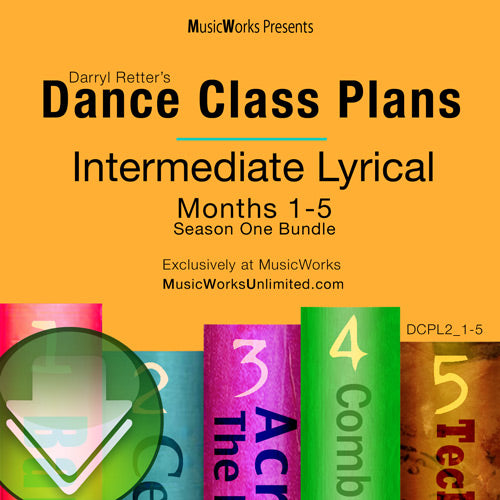 Dance Class Plans, Intermediate Lyrical Bundle 1 Download