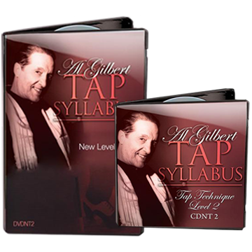 Al Gilbert Tap Technique, Grade 2 Bundle