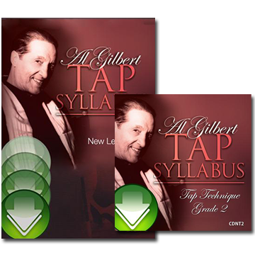 Al Gilbert Tap Technique, Grade 2 Bundle Download