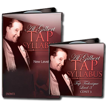 Al Gilbert Tap Technique, Grade 3 Bundle