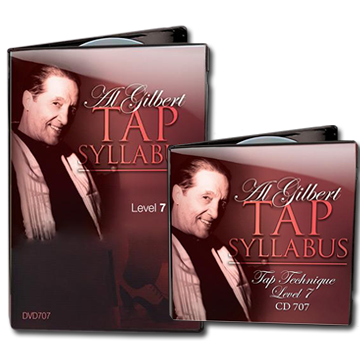 Al Gilbert Tap Technique, Grade 7 Bundle