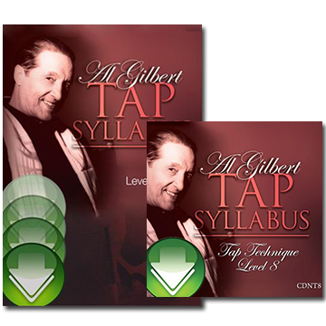 Al Gilbert Tap Technique, Grade 8 Bundle Download