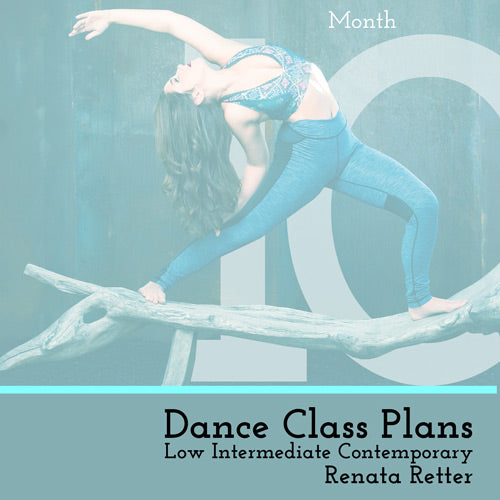 Low Int Contemporary Class Plans, Month 10