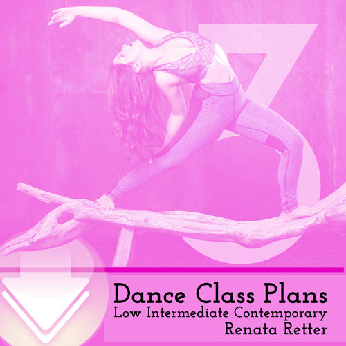 Low Int Contemporary Class Plans, Month 3
