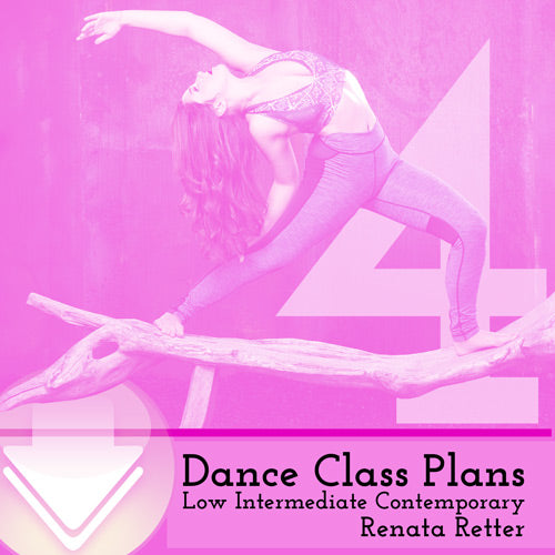 Low Int Contemporary Class Plans, Month 4