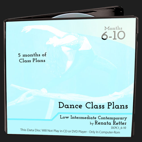 Low Int Contemporary Class Plans, Bundle 2