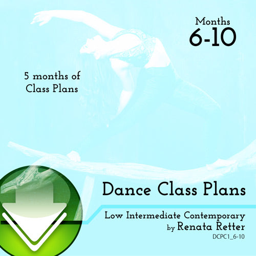 Low Int Contemporary Class Plans, Bundle 2 Download