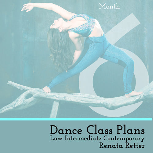 Low Int Contemporary Class Plans, Month 6