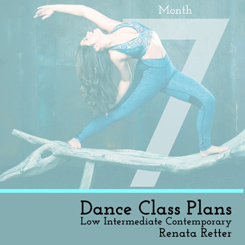 Low Int Contemporary Class Plans, Month 7