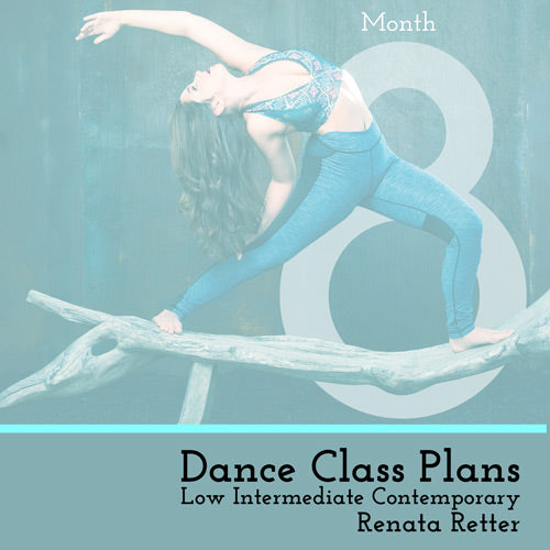 Low Int Contemporary Class Plans, Month 8