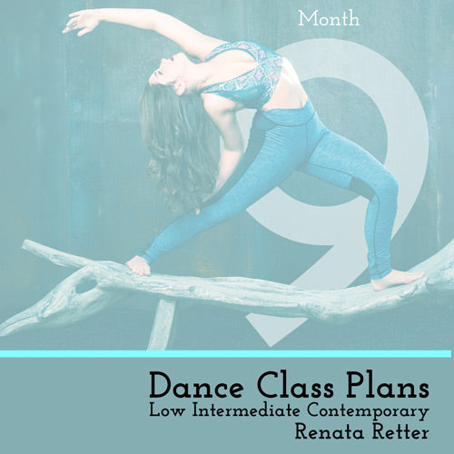 Low Int Contemporary Class Plans, Month 9
