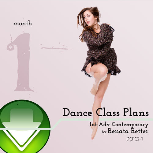 Int-Adv Contemporary Dance Class Plans, Month 1