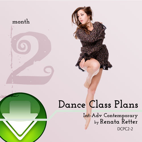 Int-Adv Contemporary Dance Class Plans, Month 2
