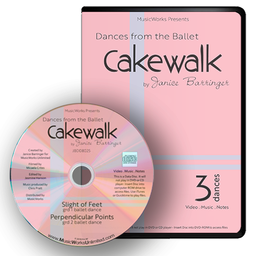 Dances from the Ballet Cakewalk