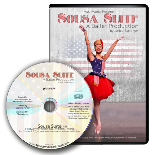 Sousa Suite Ballet Production