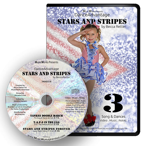 Dance Advantage – Stars and Stripes