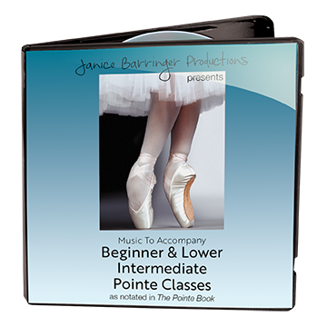 Music to Accompany Beginner & Lower Intermediate Pointe Class