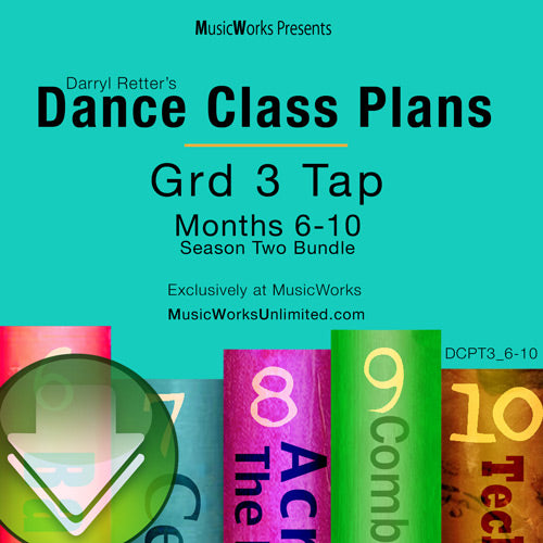 Dance Class Plans, Grade 3 Tap Bundle 2 Download