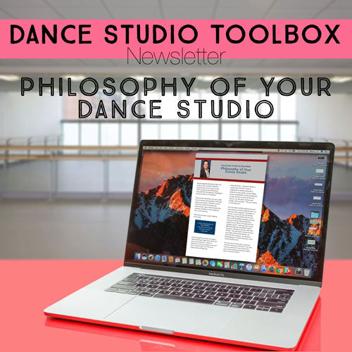 The Philosophy of Your Dance Studio