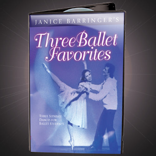Janice Barringer Three Ballet Favorites