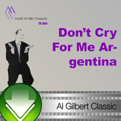 Don't Cry For Me Argentina Download