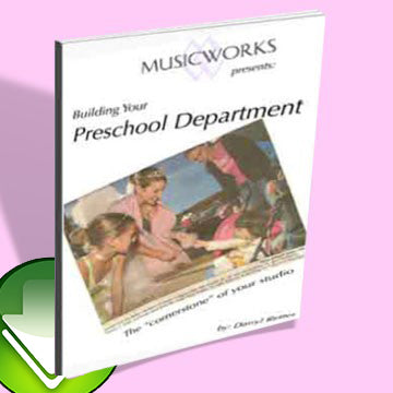 Building Your Preschool Department E-Book