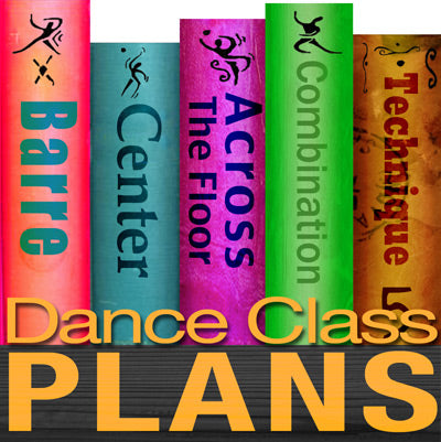 Dance Class Plans, Intermediate Lyrical, Month 5