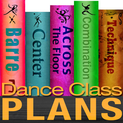 Dance Class Plans, Intermediate Lyrical, Month 1