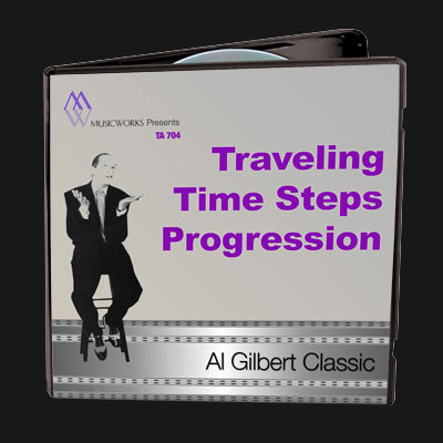Traveling Time Steps Progression