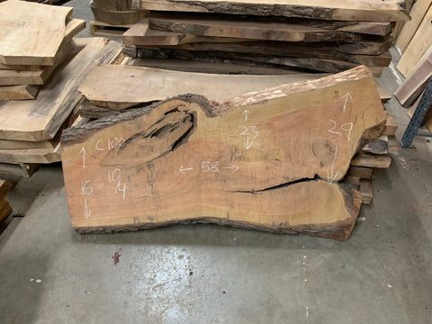 KC Slab Co | Live Edge Cherry Slab
